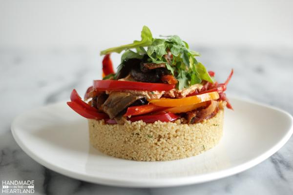 delicious veggie cous-cous salad