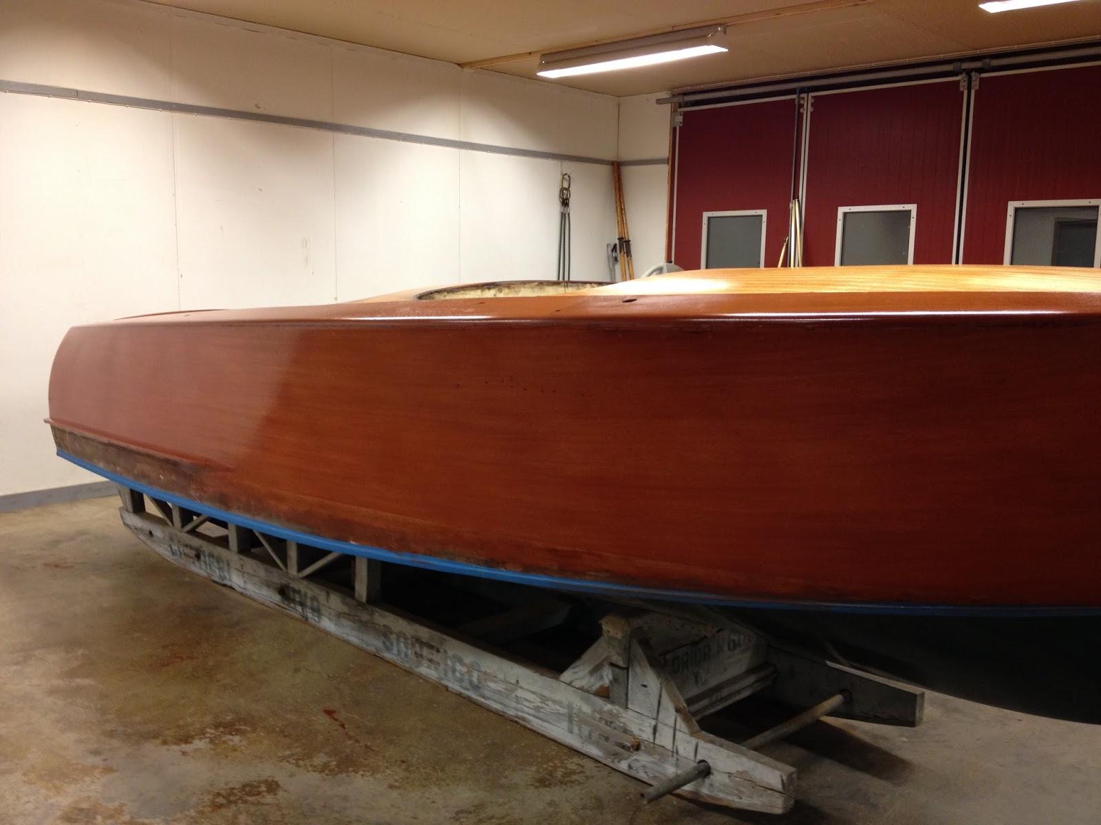 Restoration of Riva Florida 319: 2015