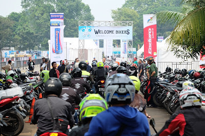 IMOS 2016: MotoFest Dipadati Ratusan Peserta dari Komunitas