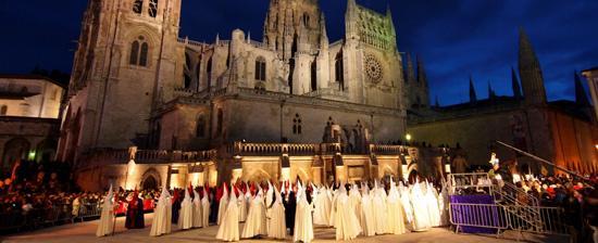 Horarios e Itinerarios Semana Santa Burgos 2017