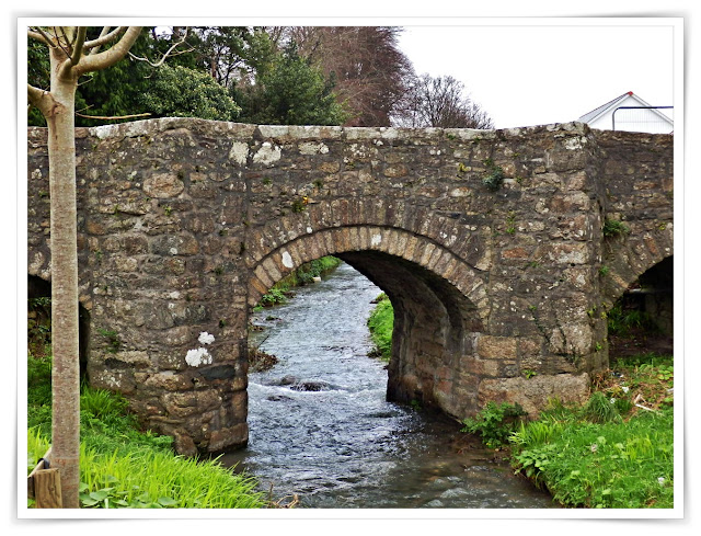 500 year old West Bridge, St.Austell, Cornwall