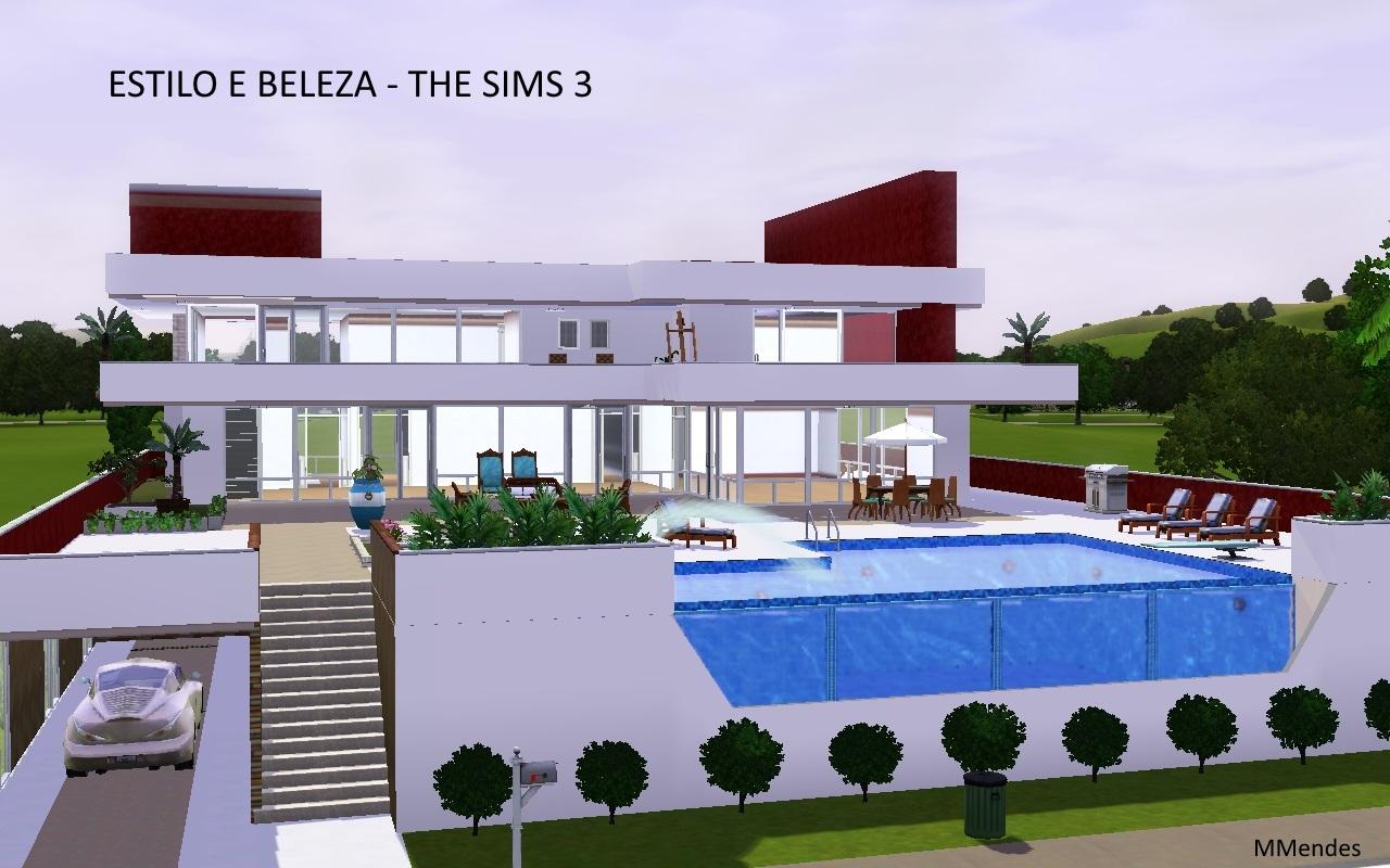Artes cria es de maria mendes lotes the sims 3 e 4 - Casas bonitas sims 3 ...
