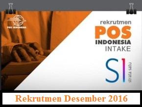 Lowongan Kerja PT.Pos Indonesia (Persero) Intake