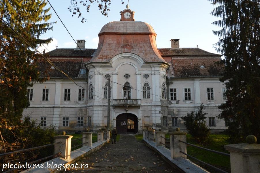 Castelul Teleki din Gornesti, jud. Mures