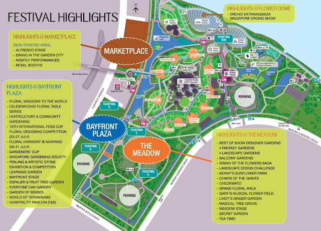 Cheekiemonkies singapore parenting lifestyle blog highlights of singapore garden festival - Garden by the bay festival ...