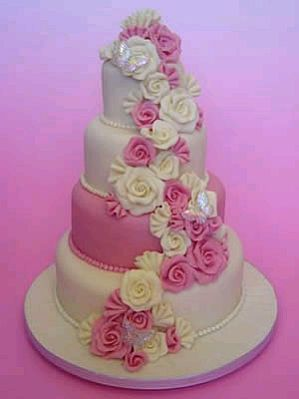 purple and pink wedding cakes muyameno tortas de boda de color rosado parte 1 18866