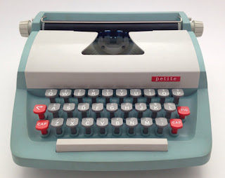 1960s toy typewriter.