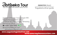 yogyakarta rent car with driver Abhisekatour