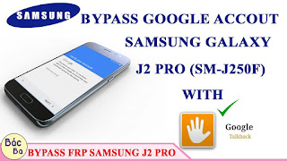 Bypass Google Account Verification Samsung J2 2018 (Pro) SM-J250F