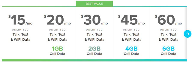 Republic Wireless cheapest prepaid cellular plans