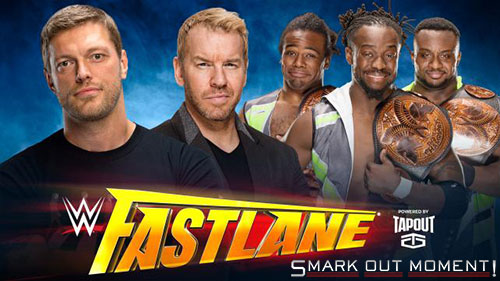 WWE Fastlane 2016 Edge Christian promo New Day