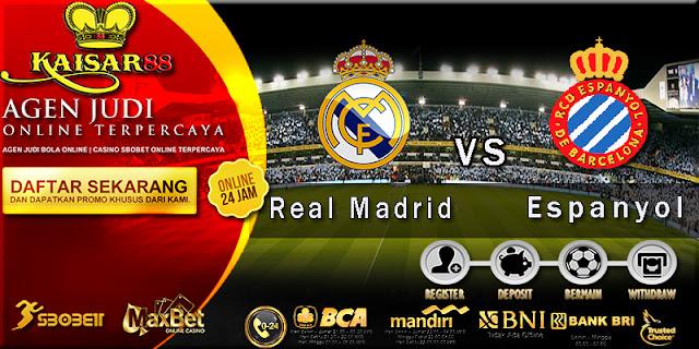 PREDIKSI BOLA LIGA SPANYOL REAL MADRID VS ESPANYOL 02 OKTOBER 2017