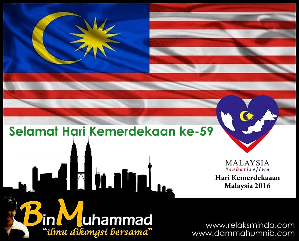 Hari Kemerdekaan Malaysia 2016 Merdeka Binmuhammad