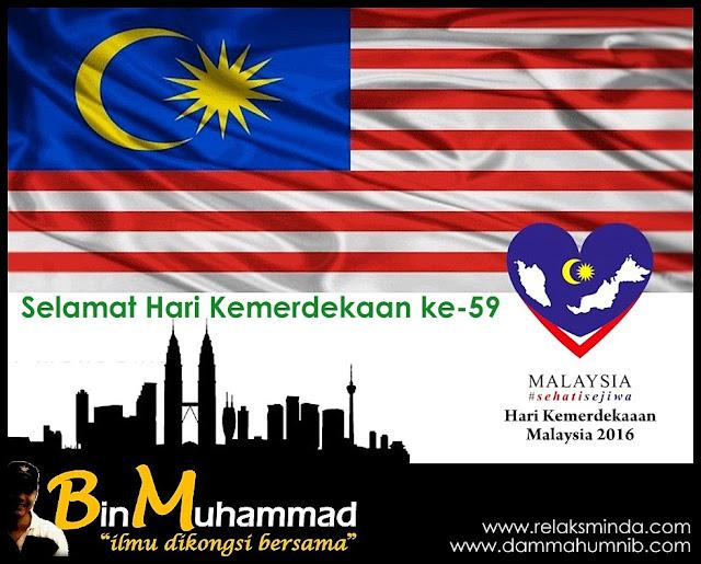 Hari Kemerdekaan Malaysia 2016 - Merdeka ke-59