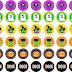 Boo! Free Printable Toppers or Labers for Halloween.