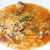Receta de arroz caldoso con longaniza y níscalos