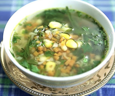 How to make Lemon Coriander Soup at Home
