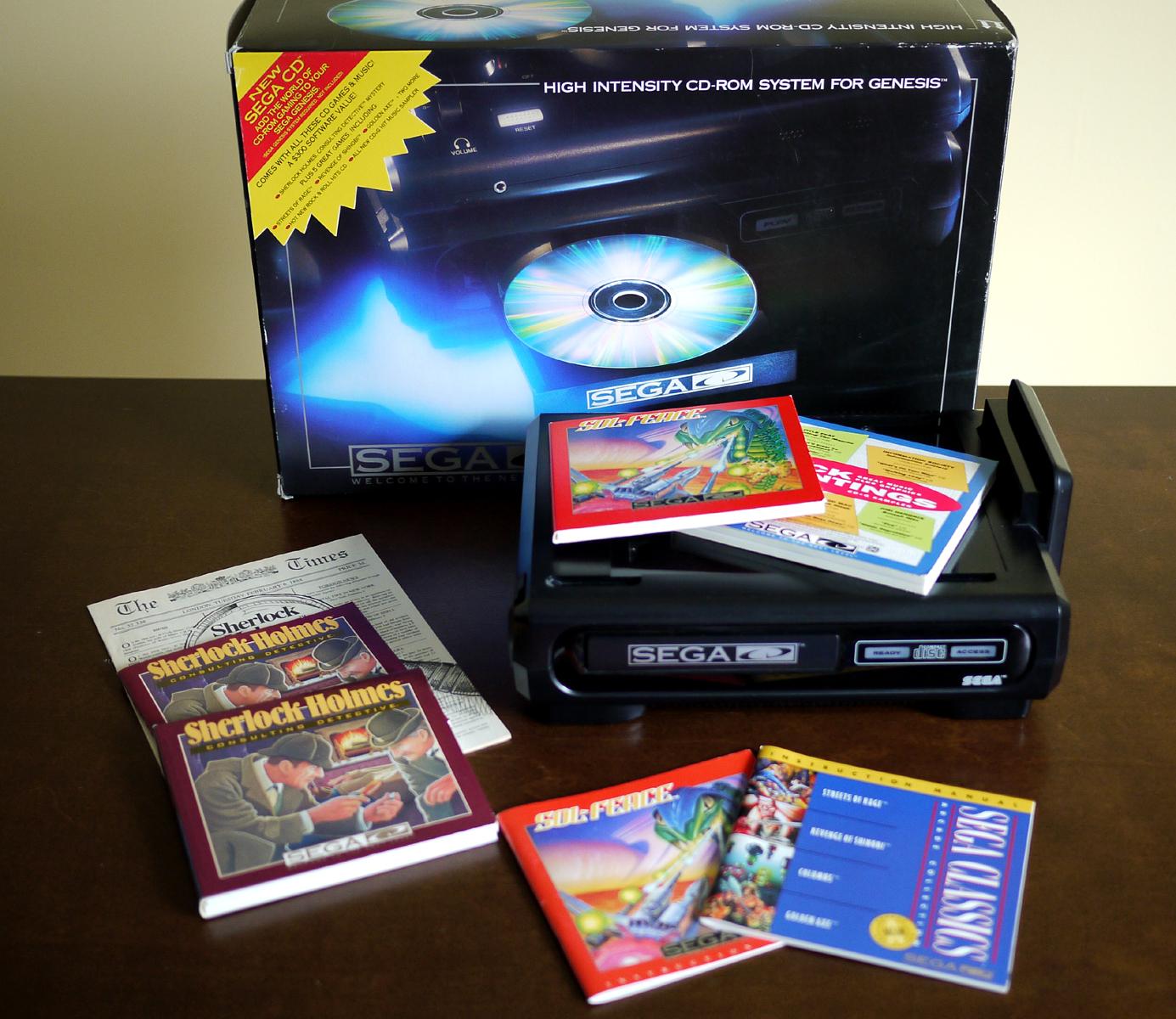 Vault 1541: [YouTube] Sega CD
