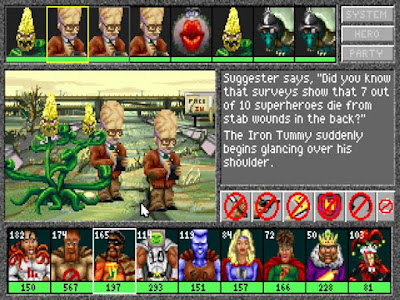 Pantallazo Superhero League of Hoboken