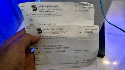 Tiket Bus Dari Suvarnabhumi Ke Pattaya