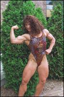Female Bodybuilder Colette Guimond
