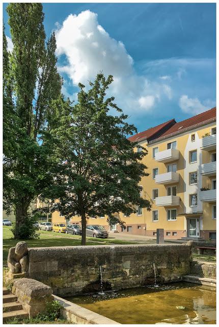 Brunnen Arnoldpromenade Zeitz