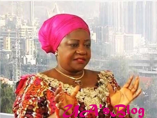 PDP is a useless party, Lauretta Onochie spits fire