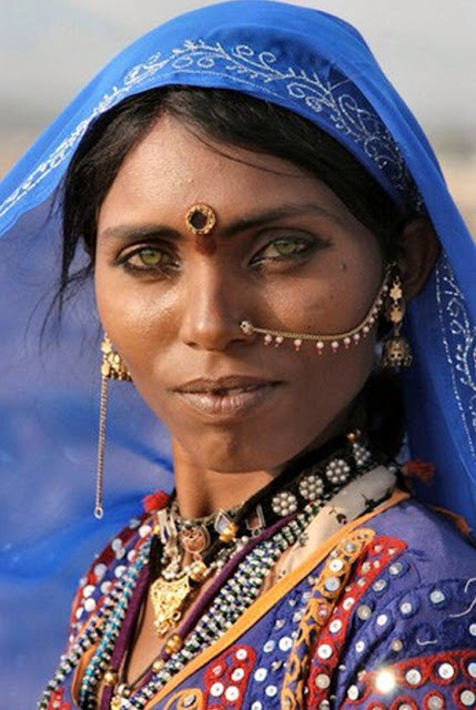 Tribal Woman of Rajasthan - Unseen Rajasthan- India