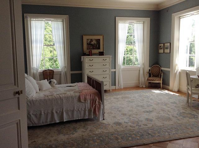 Schlafzimmer im Landhausstil einrichten - Bilder und Ideen