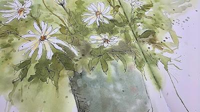 Watercolor Roberta Laliberte OOAK Artisans