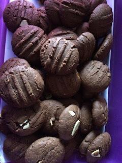 Resepi Biskut Coklat Chips Sedap