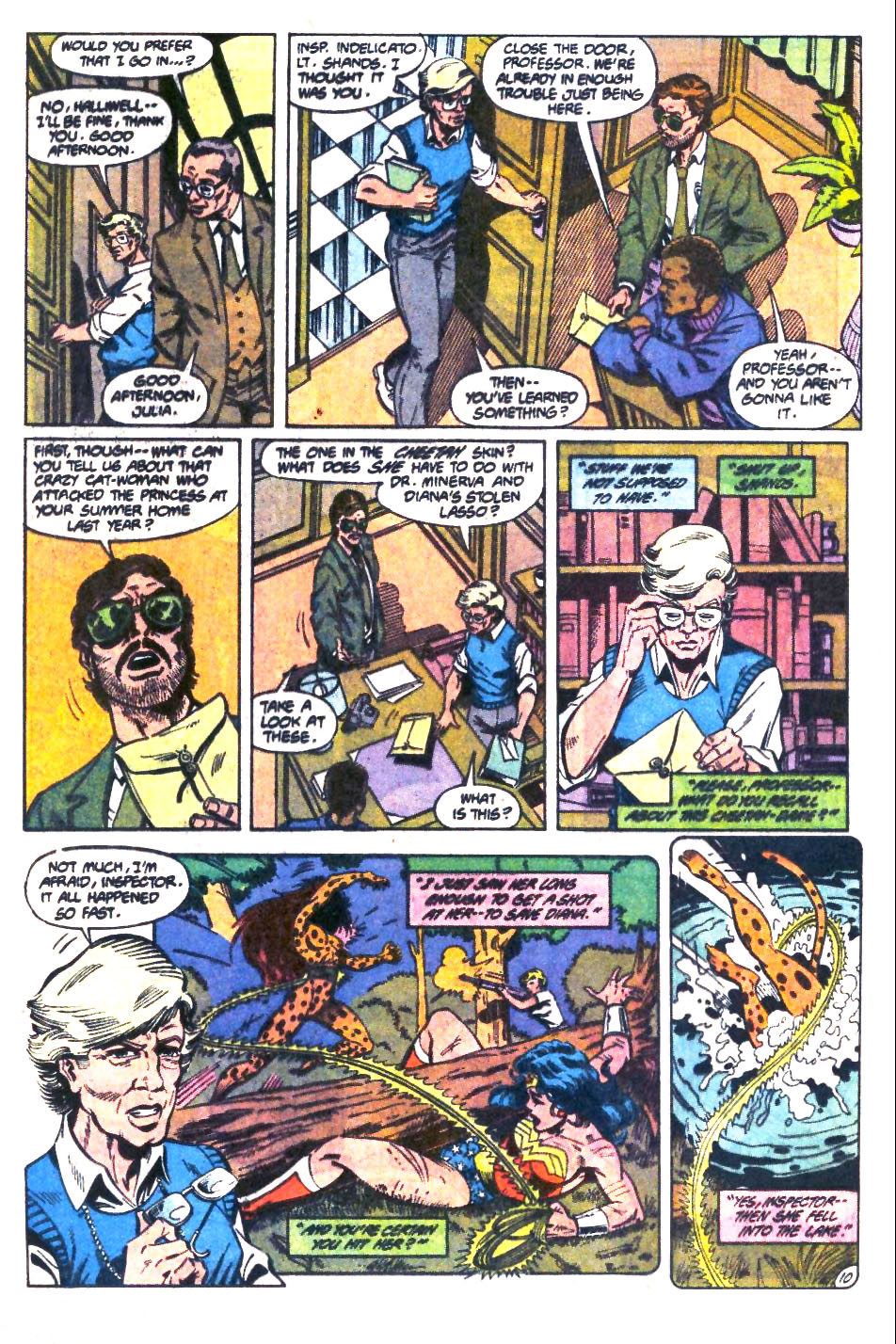 Read online Wonder Woman (1987) comic -  Issue #32 - 11