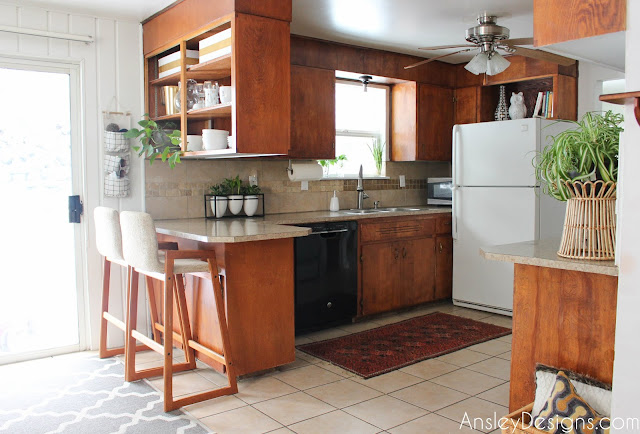 Vintage Midcentury Modern Kitchen - MCM mid-century
