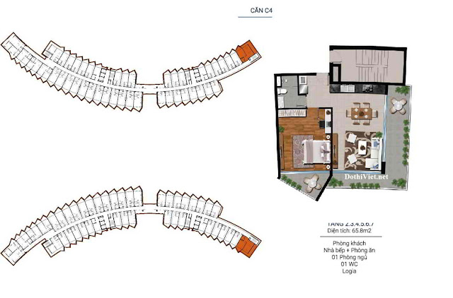 Du an Grand World can 65,8 m2