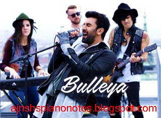 BULLEYA Sargam Piano Notes–AE DIL HAI MUSHKIL