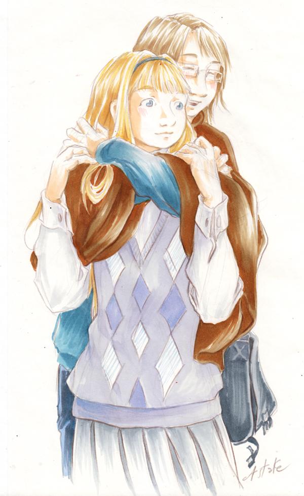 Elsa et Gabrielle - Calendrier de Tendresses 2016