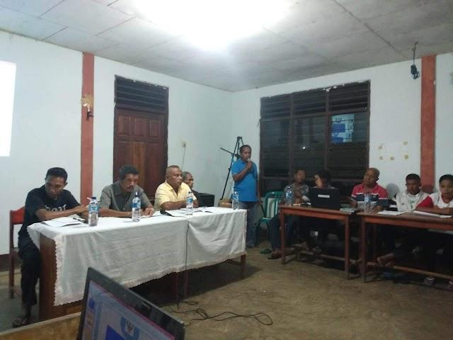 Pemerintah Desa Boru Gelar Musyawarah Penetapan Rancangan Peraturan Desa