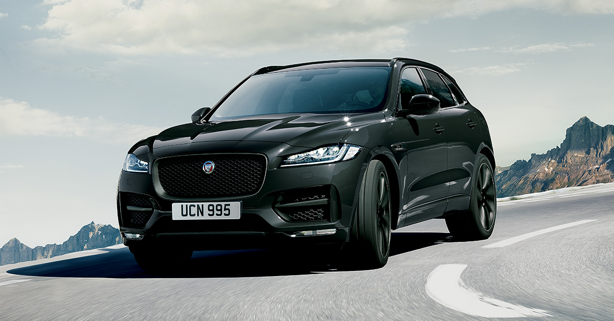 Jaguar F-PACE Dark Edition