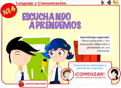 http://www.ceiploreto.es/sugerencias/Educarchile/lengua/odea05_nb4_escuchando_aprendemos/index.html