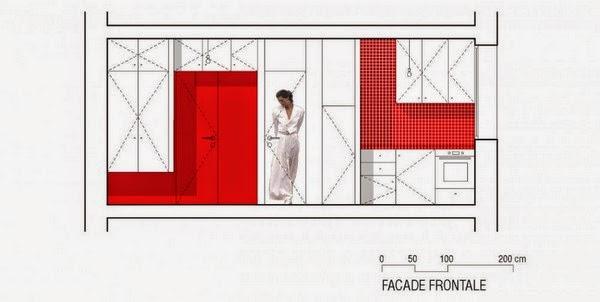 Projeto e design de interiores de apartamento