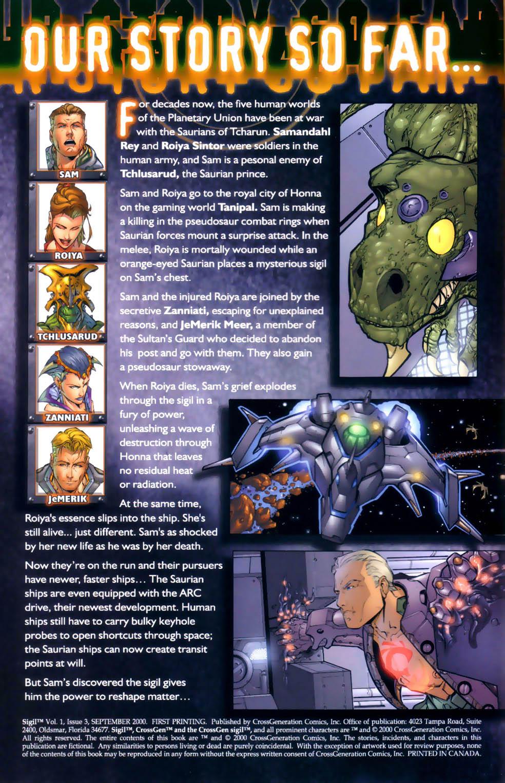 Read online Sigil (2000) comic -  Issue #3 - 2