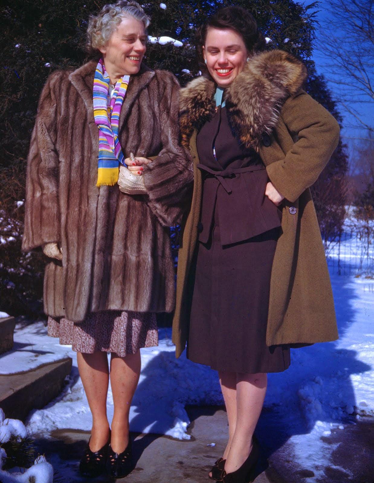 Mrs Button S Vintage Corner 1940s Winter Fashion Inspiration