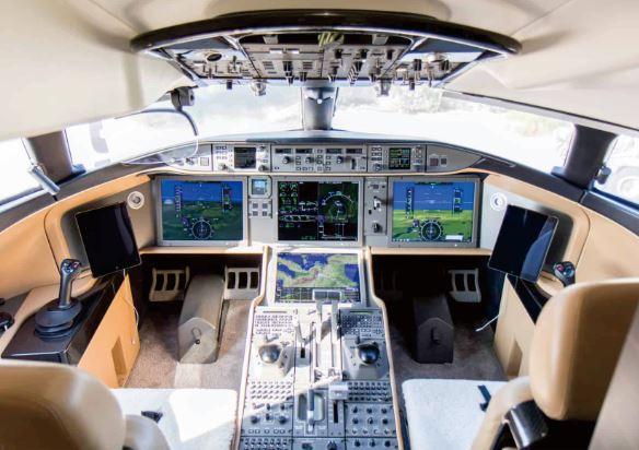 Bombardier Global 7500 cockpit