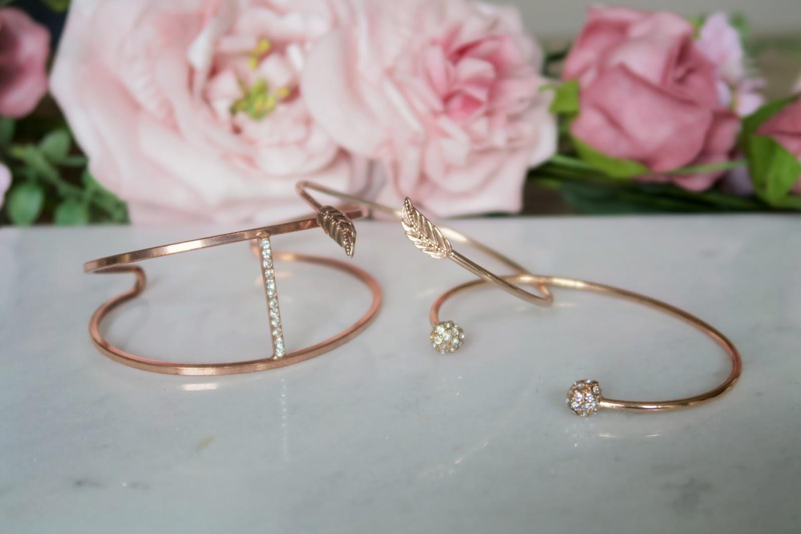 Primark Rose Gold Jewellery
