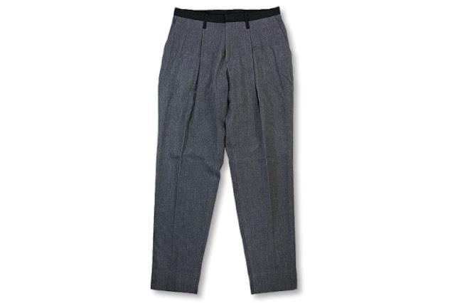 theSakaki [ Denim Tapered ] Grey