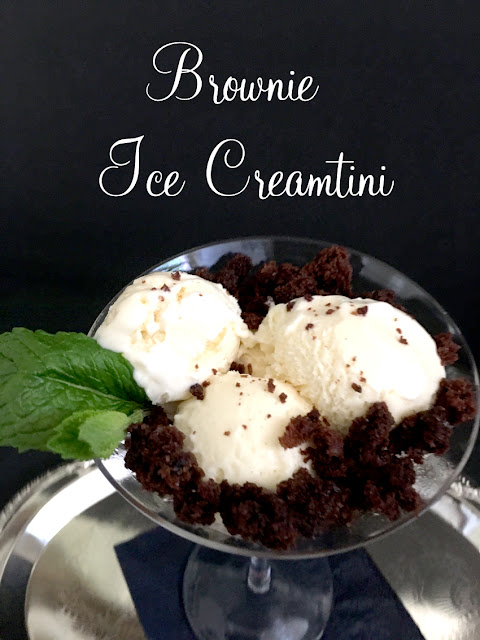 Brownie Ice Creamtini Recipe | Pretty My Party