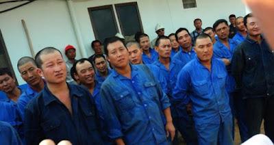 Tenaga kerja asal China