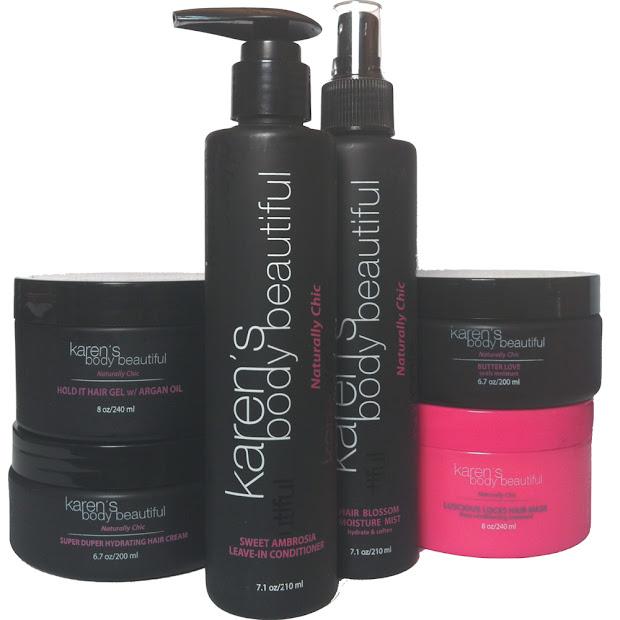 karen's body beautiful hair care