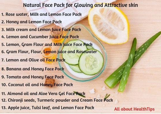 Natural face beauty tips, Natural beauty tips for glowing skin