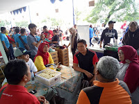 Stand Warung Kejujuran SMAN 110 di Festival Danau Sunter